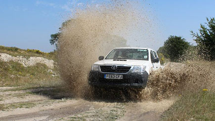 Two Hour 1-2-1 Off Road Driving