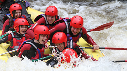 Full White Water Rafting Session in Wales