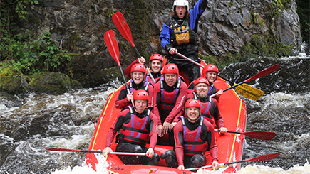 White Water Rafting Taster Session in Wales