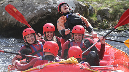 White Water Rafting Taster Session for Two in Wales