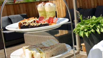 Traditional Afternoon Tea for Two at Three Horseshoes Country Inn and Spa