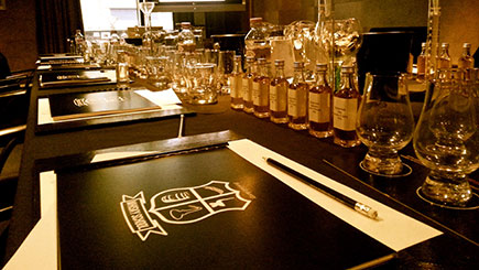 Whisky Masterclass with Lunch in London