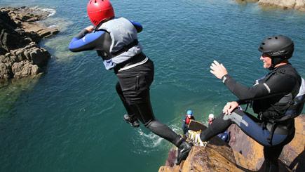 Coasteering And Adventure Day