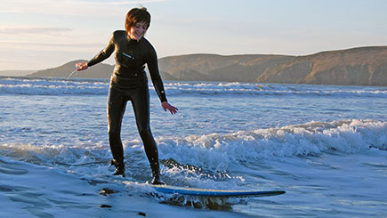 Surfing Taster in Wales