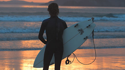 Surfing Taster for Two in Wales