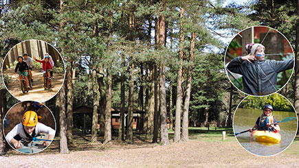 Two Night New Forest Lodge Break (Sleeps Six)