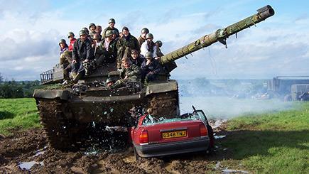 Full Monty Tank Driving