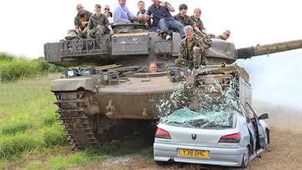 Drive A Tank >> Full Monty Tank Driving For Two