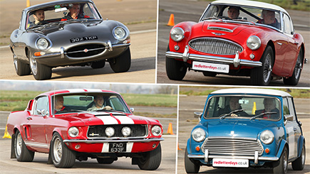 Ultimate Classic Car Driving at Bicester Heritage