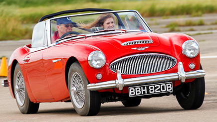 Austin Healey Driving Thrill and Hot Ride