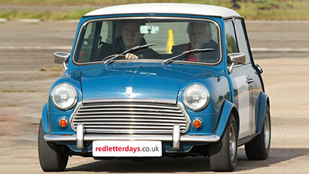 Classic Mini Cooper S Driving Thrill And Hot Ride Red Letter Days