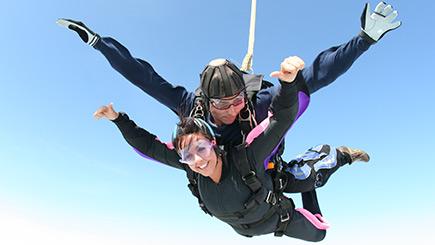 Tandem Skydiving in Suffolk