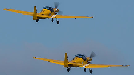 Aerobatic Flying Experience for One with Top Gun UK (Saturdays)