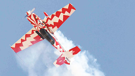 Aerobatic Flying Experience For One With Top Gun Uk (weekdays)