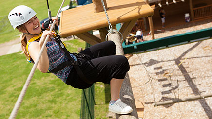 High Ropes Adventure in Hertfordshire