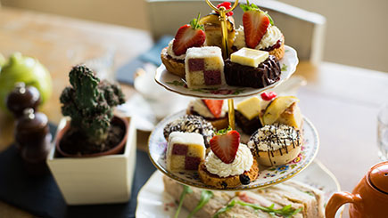 Sparkling Afternoon Tea for Two at The Vicarage