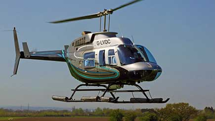 12 Mile Helicopter Pleasure Flight for Two in Gwent