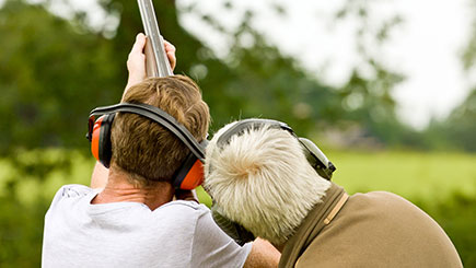 Clay Shooting Experience with Seasonal Refreshments in Buckinghamshire