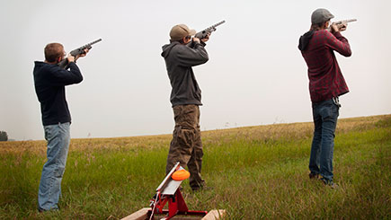 Clay Shooting Experience with Seasonal Refreshments in Oxfordshire
