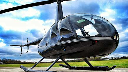Triple Helicopter Flight Experience