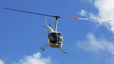 15 Minute Helicopter Flight with Lunch in Manchester