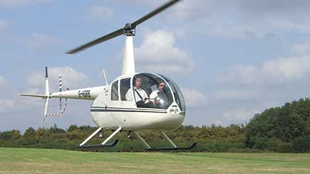 Triple Helicopter Flight Experience In Warwickshire