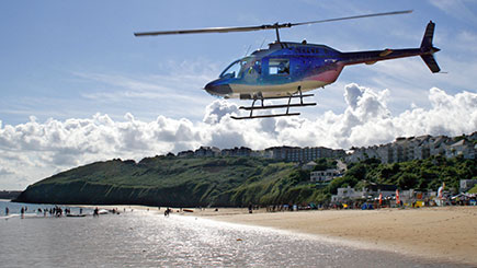 Helicopter Pleasure Flight And St. Ives Hike