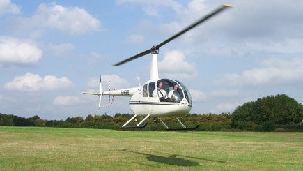 Triple Helicopter Flight Experience In Manchester