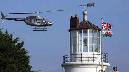 Helicopter Pleasure Flight and Tour of West Usk Lighthouse