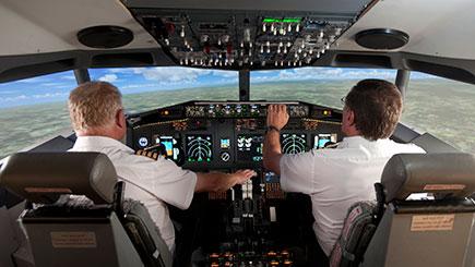 60 Minute Full Motion Flight Simulator Experience in Devon