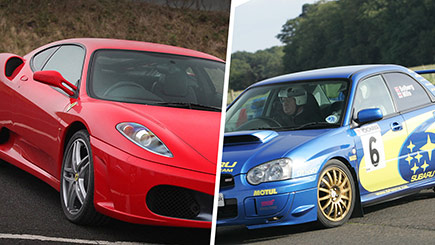 Ferrari And Rally Thrill