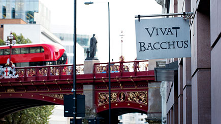 Two-Course Dinner and Wine Flight for Two at Vivat Bacchus, Farringdon