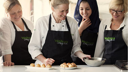 Full Day Cookery Course for Two at Waitrose Salisbury Cookery School