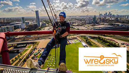 Freefall Abseil at The ArcelorMittal Orbit for Two