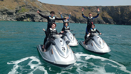 Mini Jet Ski Safari for Two in Newquay, Cornwall