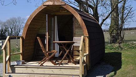 One Night Stay in a Super Camping Pod for Two in Devon