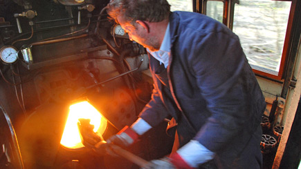 Introduction to Steam Engine Driving at Mid Hants Railway Alresford Hampshire