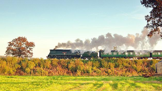 Family Steam Train Trip At Mid Hants Railway In Alresford Hampshire