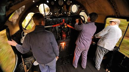 Steam Train Footplate Ride Experience at Mid Hants Railway