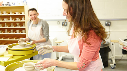 Pottery Class and Afternoon Tea for Two at The World of Wedgwood