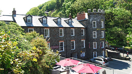 Two Night Country House Escape for Two at The Wellington Hotel, Cornwall