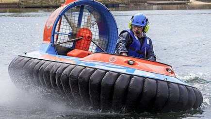 30 Minute Hovercraft Thrill for One in Northampton