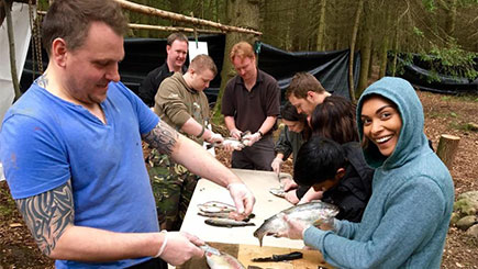Bushcraft Survival Day for Two, Shropshire