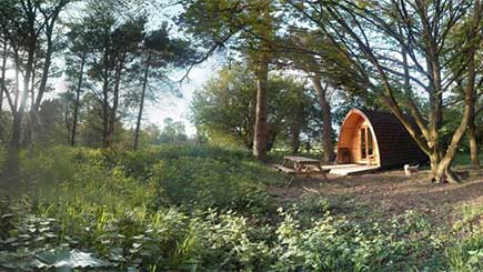 Two Night Glamping Break for Two in Suffolk