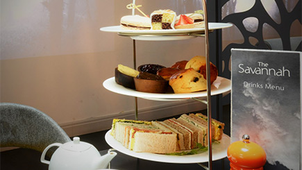 Luxury Afternoon Tea for Two at The Savannah