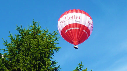 Weekday Anytime Hot Air Balloon Flight for Two in The Midlands