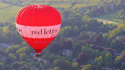 Weekday Sunrise Hot Air Balloon Flight for Two
