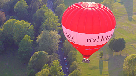 Weekday Anytime Hot Air Balloon Flight for Two in South Central England