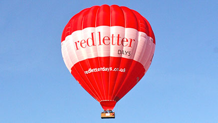 Hot Air Balloon Ride Anytime for Two in Northern England