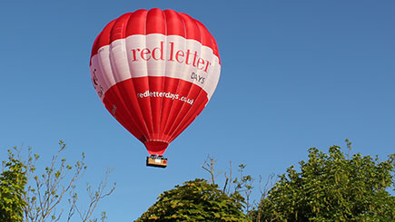 Hot Air Balloon Ride Anytime in Northern England